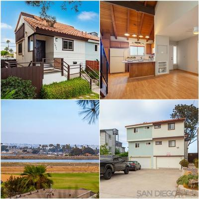 Ocean Beach Single Family Home For Sale: 5031 W Point Loma Blvd