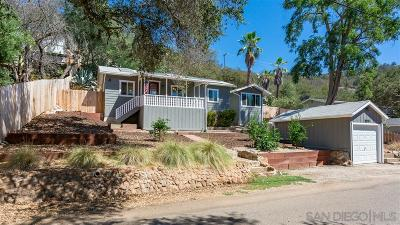 Escondido Single Family Home For Sale: 15575 Oakvale Rd.