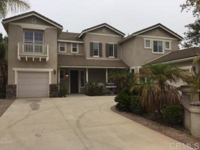 Escondido Single Family Home For Sale: 2418 Douglaston Gln