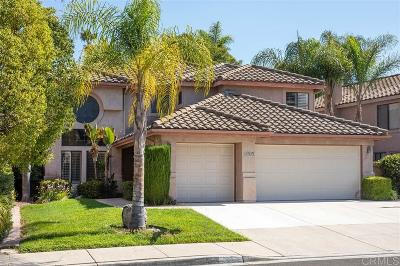 Oceanside Single Family Home For Sale: 1276 Calle Ultimo