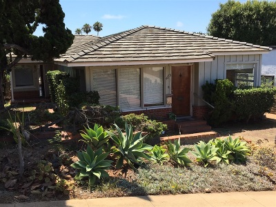 Sunset Cliffs Rental For Rent: 4715 Del Mar Ave