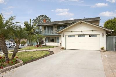 University City Single Family Home For Sale: 4224 Karensue Ave