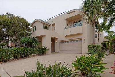 La Jolla Single Family Home For Sale: 605 Westbourne Street