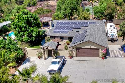 Poway Single Family Home For Sale: 15408 Espola Road