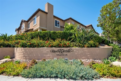Carlsbad Townhouse For Sale: 6170 Citracado Circle