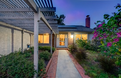 Encinitas Single Family Home For Sale: 1436 Ivyglen Drive