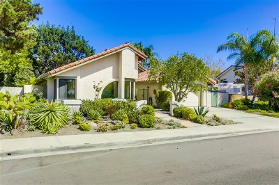 Solana Beach Single Family Home For Sale: 264 La Barranca
