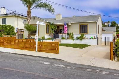 San Diego Single Family Home Pending: 3236 Keats