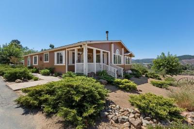 Valley Center Single Family Home For Sale: 34139 Hampton Rd