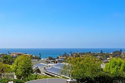 Solana Beach Single Family Home For Sale: 308 Corto