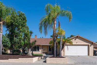 Single Family Home For Sale: 14839 Penasquitos Dr