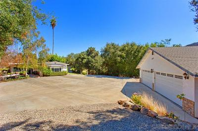 Valley Center Single Family Home For Sale: 31147 Lilac Road