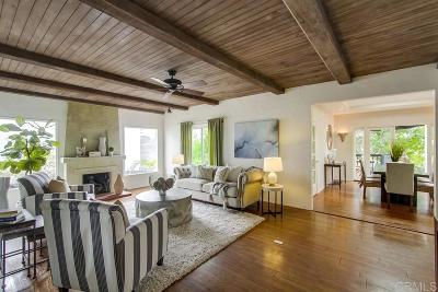 Kensington, Kensington Manor, Kensington Park, Kensington/Normal Heights Single Family Home For Sale: 4671 E. Talmadge
