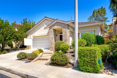 Carlsbad Single Family Home For Sale: 2912 Avenida Valera
