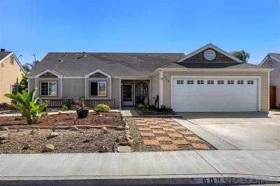 Oceanside Single Family Home For Sale: 608 Myrtlewood Ct