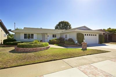 Del Cerro, Del Cerro Heights, Del Cerro Highlands, Del Cerro Terrace Single Family Home For Sale: 6535 Del Cerro Blvd