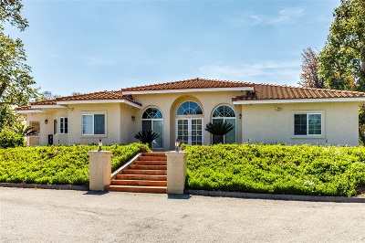 Fallbrook Single Family Home For Sale: 3879 Ladera Vista Rd