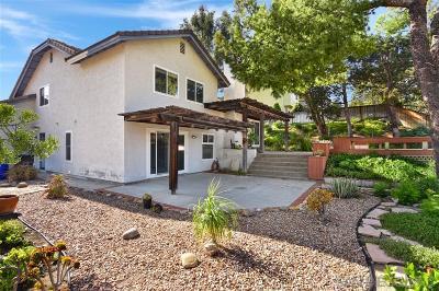 San Diego Single Family Home Pending: 10533 Sunset Ridge