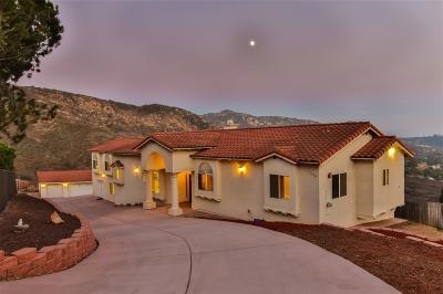 Escondido Single Family Home For Sale: 11305 Harmony Place