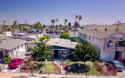 San Diego Single Family Home For Sale: 4073 Cherokee