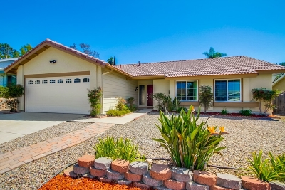 Oceanside Single Family Home For Sale: 3580 Hatfield Cir