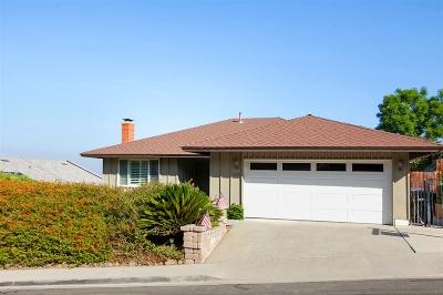 Del Cerro, Del Cerro Heights, Del Cerro Highlands, Del Cerro Terrace Single Family Home For Sale: 6236 Camino Del Rincon