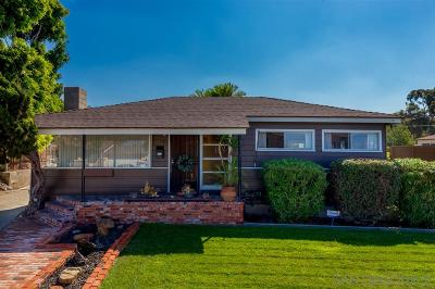 Chula Vista Single Family Home For Sale: 675 Dennis Ave