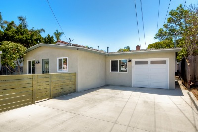 Coronado  Single Family Home For Sale: 312 J Ave