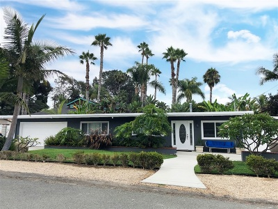 Encinitas Single Family Home For Sale: 773 Puebla Street