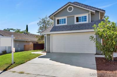 San Diego Single Family Home For Sale: 14892 Werris Creek Ln