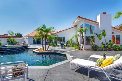 La Jolla Single Family Home For Sale: 6275 Cardeno Drive