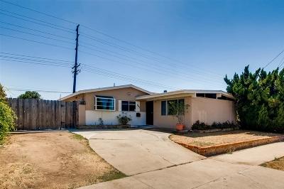 Clairemont, Clairemont Mesa, Clairemont Mesa East, Clairemont Unit 16, Clairmont Single Family Home For Sale: 5571 Bergen