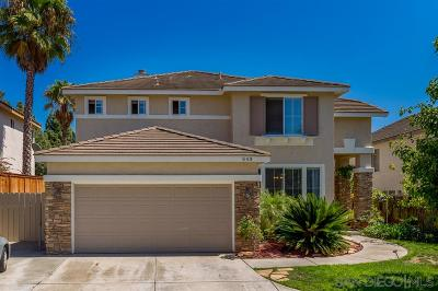 Rancho Del Rey Single Family Home For Sale: 543 Paseo Rosal