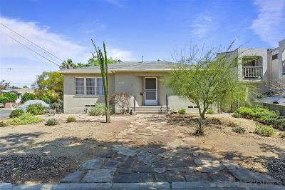 San Diego Single Family Home For Sale: 4787 Hawley Blvd