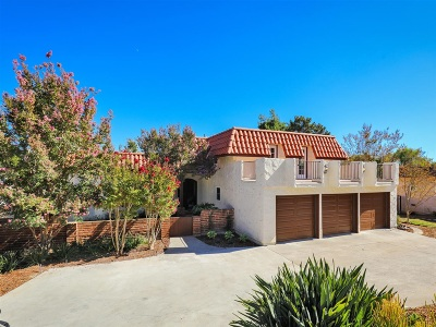 Vista CA Single Family Home For Sale: $797,000