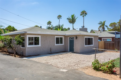 Oceanside Single Family Home For Sale: 607 Windward Way