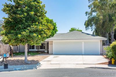 Oceanside Single Family Home For Sale: 3596 Kellington