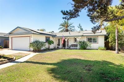 Escondido Single Family Home For Sale: 361 Dorothy Ct