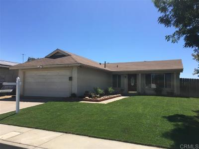 Single Family Home For Sale: 7687 Angeleno Rd