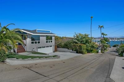 San Diego Single Family Home For Sale: 2920 Perry St