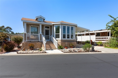 Carlsbad Mobile/Manufactured Sold: 3454 Don Ortega Dr