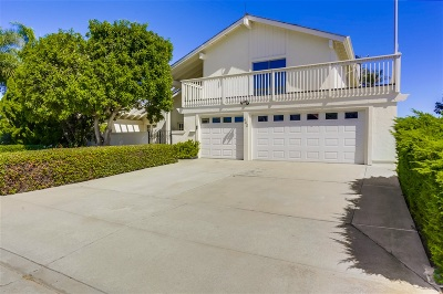 Solana Beach Single Family Home For Sale: 442 Santa Dominga