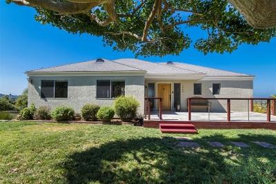 Vista Single Family Home For Sale: 1264 Alta Vista Dr.