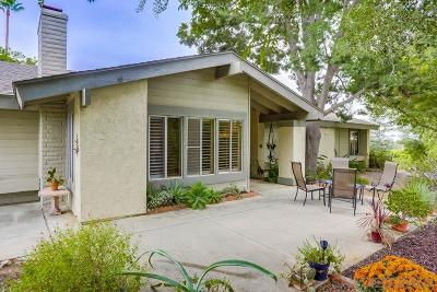 Escondido Single Family Home For Sale: 715 Bear Valley Pkwy