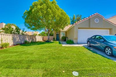 Murrieta, Temecula Single Family Home For Sale: 43000 Corte Cabrera