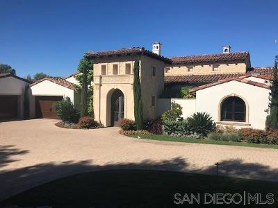 San Diego Single Family Home Sold: 8335 Run Of The Knolls