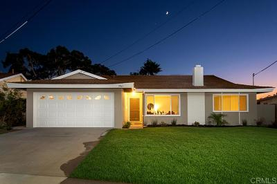 Carlsbad Single Family Home For Sale: 3961 Gloria