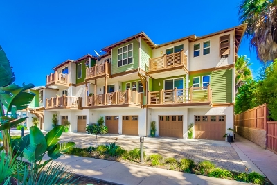 Encinitas Townhouse For Sale: 1867 N Vulcan