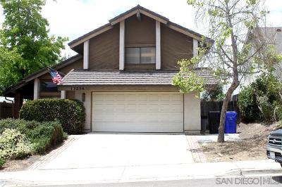 San Diego Single Family Home For Sale: 13256 Gunner Avenue