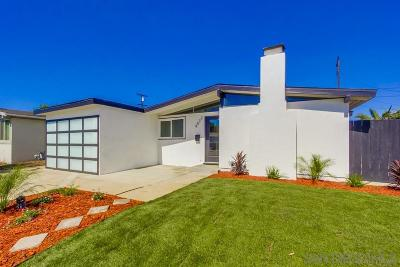 San Diego CA Single Family Home For Sale: $605,000